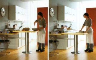 Высота стола — стандартные размеры с учетом всех членов семьи