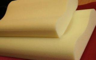 Ортопедическая подушка из латекса: виды и особенности выбора