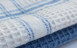 Как отбелить кухонные полотенца в домашних условиях без кипячения — лучший способ