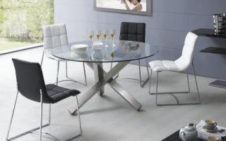 Обеденный стол в маленькую гостиную: выбор материала, размера и стиля