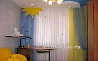 Шторы и тюль со звездами: варианты для детской комнаты, как пошить занавески
