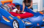 Детская кровать машина в интерьере: обзор моделей и рекомендации