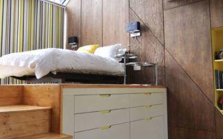 Откидные кровати трансформеры: виды механизмов, фото интерьеров