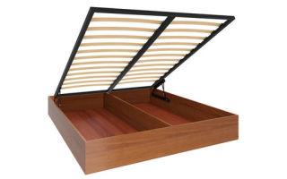 Чем удобная кровать с подъемным механизмом 180х200, плюсы и минусы.
