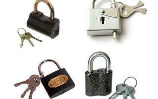 Замок для шкафа-купе: выбор механизма блокировки