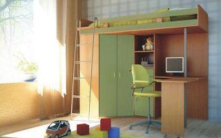 Кровать-чердак «малыш»: виды дизайна, особенности выбора