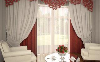 Шторы с ламбрекеном в спальню: тюль, фото красивых изделий, новинки дизайна