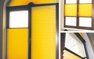 Шторы плиссе: описание, модели для пластиковых, мансардных окон, как крепить