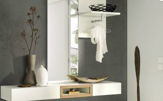 Прихожая с зеркалами: оригинальные идеи дизайна и оформления