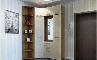 Угловые шкафы-купе в прихожую: виды и особенности использования