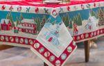 Красивые скатерти на круглый стол: особенности, виды, материалы, цвета и декоры, плотность