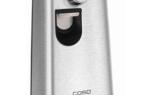 Электрический консервный нож: характеристики для открывания банок, критерии выбора для консервов