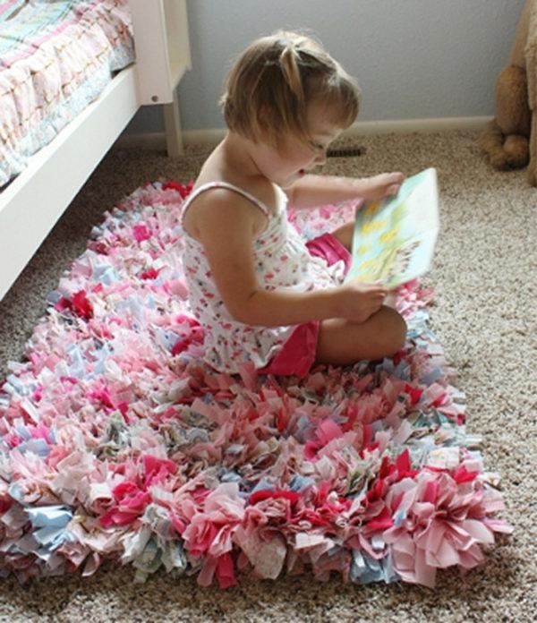 Коврики из лоскутов ткани своими руками: как сшить на машинке ковер и пэчворк подушки