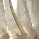Белая тюль: прозрачная, плотная, с вышивкой, имитация льна, фото в интерьере