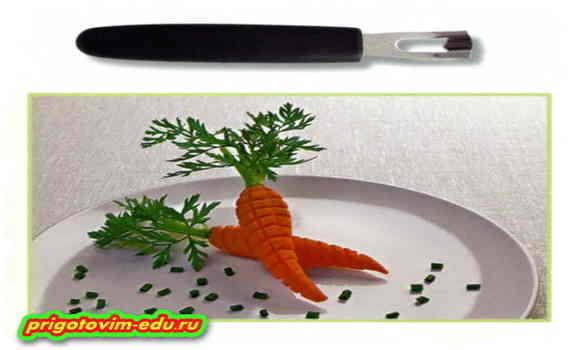 Фигурный нож для нарезки овощей: рифленый и волнистые ножи для овощей и фруктов, ножи для нарезки соломкой и волнами