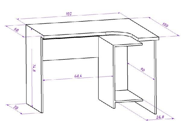 Как сделать письменный стол своими руками: пошаговая инструкция