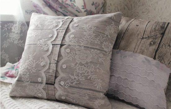 Шьем наволочку на подушку пошагово: с запахом, с ушками, круглую
