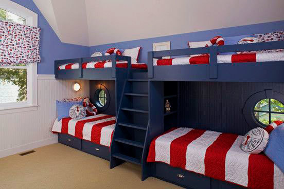 Кровати в детскую для троих детей: какие бывают и как выбрать?
