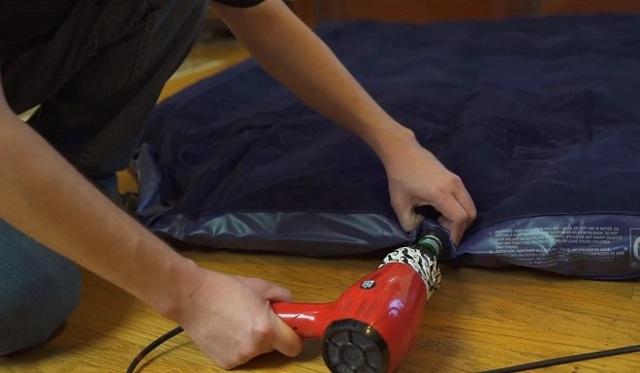 Как надуть матрас без насоса: накачиваем надувную мебель в домашних условиях