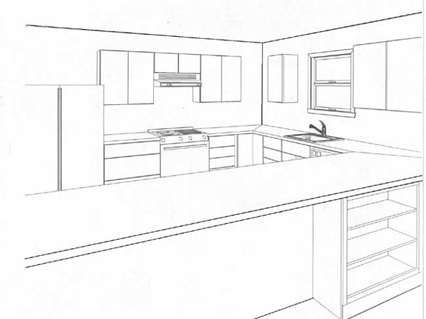 Проект кухонного гарнитура: как сделать самостоятельно?