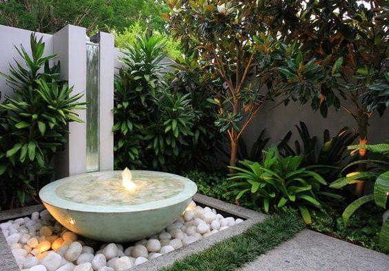 Декоративный водопад для дома: настольный фонтан и как сделать красоту на даче?