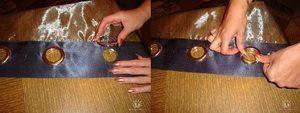 Шторы на люверсах своими руками: пошаговая инструкция, как сшить для кухни, зала