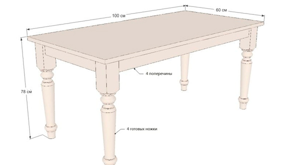 Стол из массива дерева своими руками: материалы, изготовление