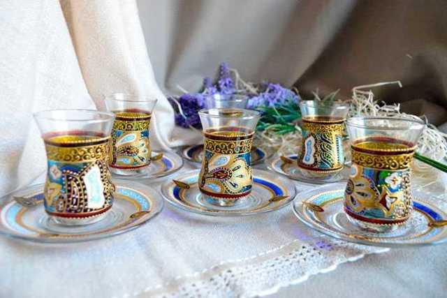 Турецкие стаканы для чая (армуду): как называется, описание восточных чайных стаканов
