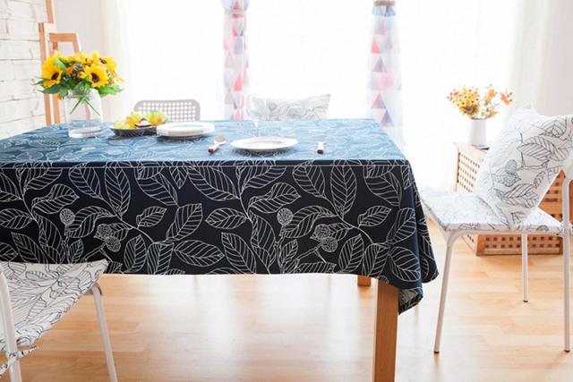 Скатерть на стол: что постелить вместо красивой кухонной скатерки на каждый день?