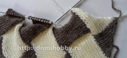 Пошаговая техника вязания энтерлак спицами: подробная инструкция. 75 фото