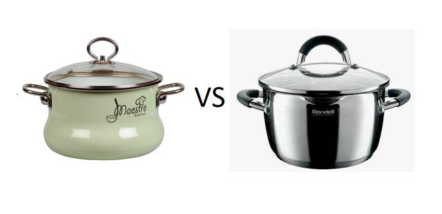 Как выбрать кухонную кастрюлю: виды, из чего делают, эмалированные и нержавейки, самая лучшая и безвредная