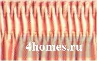Бантовая складка на шторах: какие виды бывают, как сделать своими руками