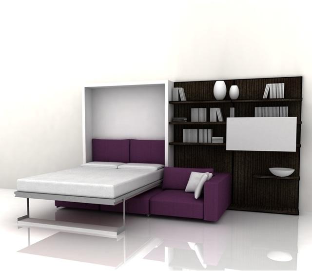 Кровать в стене: преимущества и недостатки мебели-трансформер