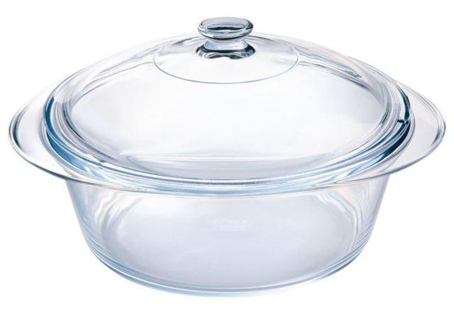 Стеклянные кастрюли: для газовой и электрической плиты, с крышкой, из жаропрочного и термостойкого стекла