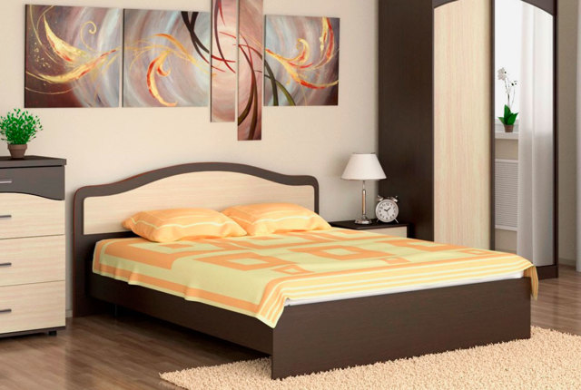Выбор двухспальной кровати: удобность спального места
