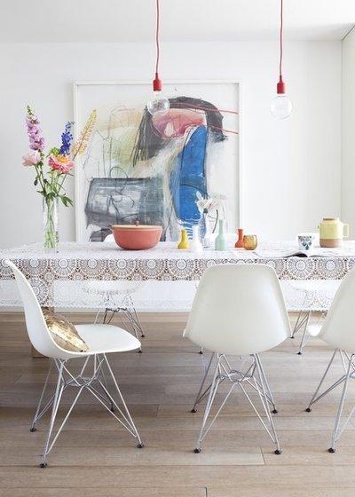 Скатерть своими руками: сшить подстилку на прямоугольный или круглый стол