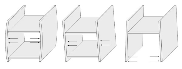 Выдвижные ящики на роликовых направляющих делаем своими руками