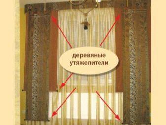 Утяжелитель для штор: как пришить грузики на тюль, пошаговая инструкция