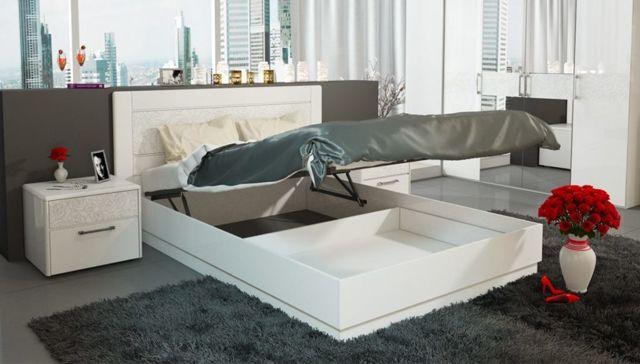 Механизмы для подъема кроватей. 75+ современных фото идей