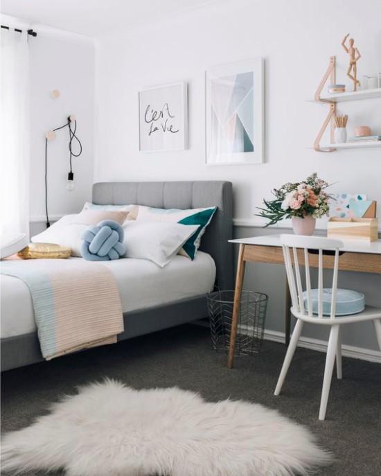 Мебель для комнаты девочки подростка: лучшие варианты с фото