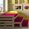 Особенности выбора детских раздвижных кроватей и их преимущества