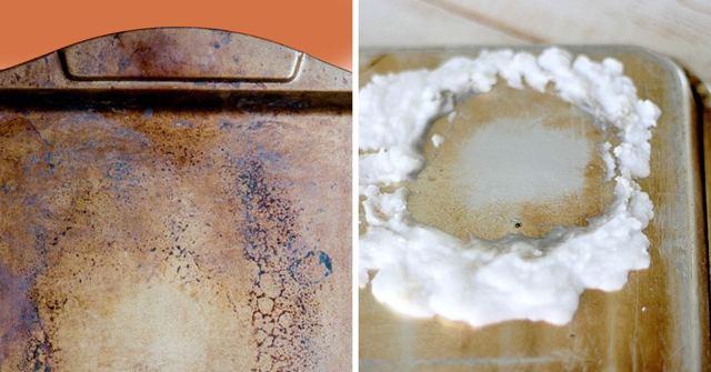 Как очистить противень от нагара и старого жира: чем отмыть в домашних условиях алюминиевый и стеклянный