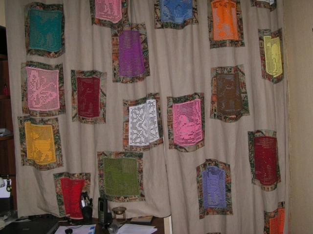 Шторы своими руками из подручных материалов, идеи, как сшить из остатков ткани