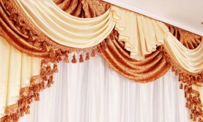 Как гладить шторы из полиэстера: глажка отпаривателем быстро, разгладить на весу