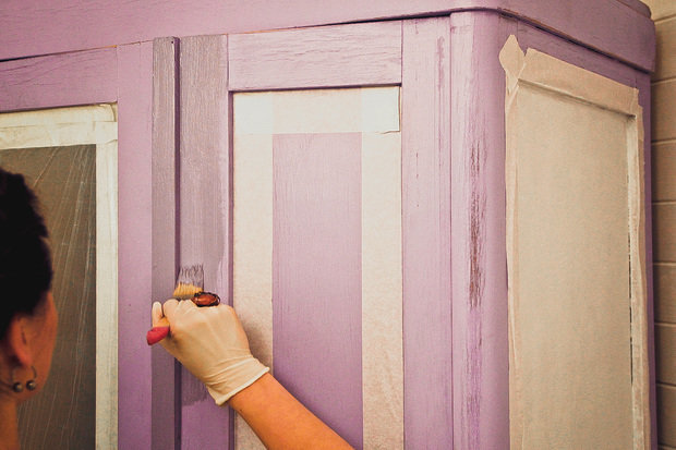 Декупаж шкафа своими руками: выбор идеи для декора