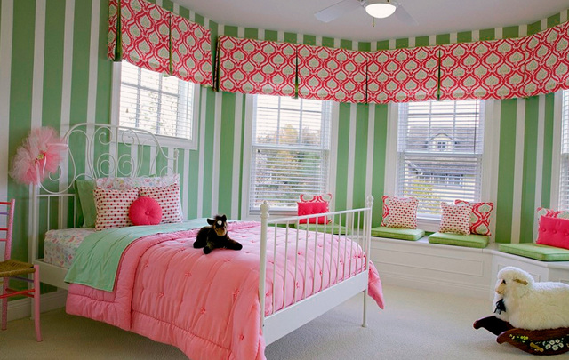 Шторы в детскую комнату для девочки: занавески и тюль, новинки дизайна, фото