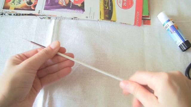 Шкатулка из газетных трубочек пошагово: ключница лиса из бумаги для начинающих или как сделать красивую плетеную совушку?
