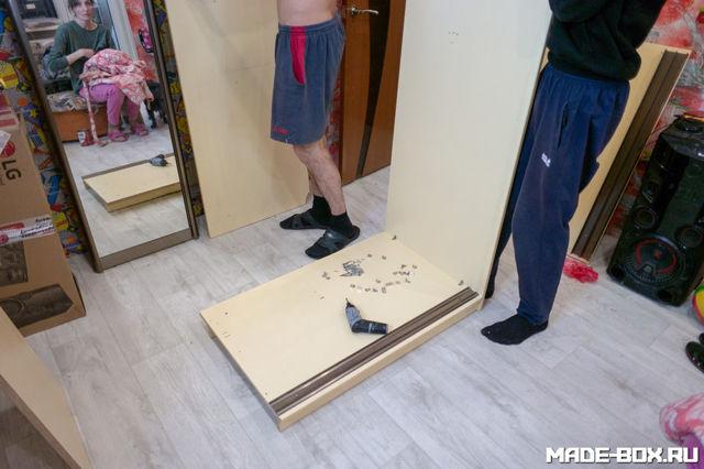 Сборка шкафа-купе своими руками: этапы и необходимые инструменты