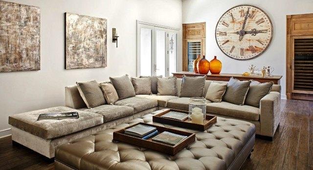 Диван в гостиную: как правильно выбрать конструкцию и размер?