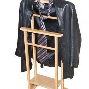 Напольная вешалка для одежды своими руками из дерева и другие виды плечиков